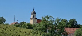 Kirche in gundelsheim - gpxbike.de