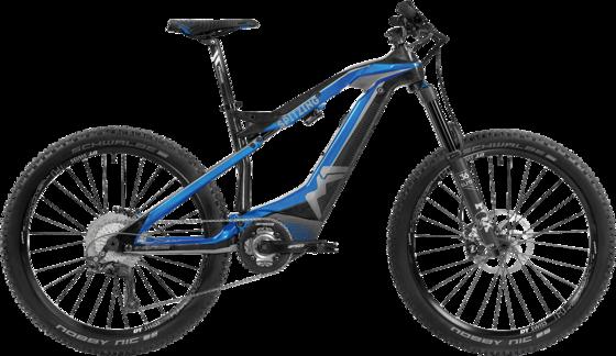 Spitzing Evolution - Farbe candy blue /carbon - gpxbike.de